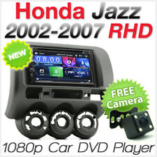 Car DVD MP3 Player Head Unit Radio For Honda Jazz 2002-2007 Fascia Kit Stereo 2G
