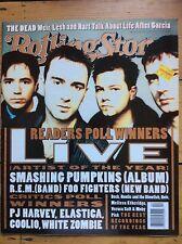 Rolling Stone 726 Live cover, Grateful Dead, Elastica, Poll Results