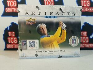 2021 Upper Deck Artifacts Golf Hobby Box Factory Sealed Tiger Woods / Dechambeau