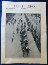 ILLUSTRAZIONE ITALIANA - N.23/1924 - RE A LONDRA - DOLCIARIA LOMBARDI MACCHI MI