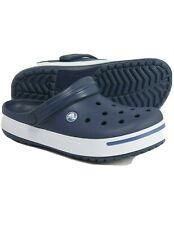 Crocs Crocband II Clogs, Navy Blue & White Men's Size 6, Women's Size 8 New