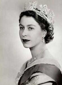 Queen Elizabeth Prince Philip POSTER PRINT ART - VARIOUS SIZES & FRAMED OPTION f