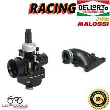 CARBURATORE DELL'ORTO PHBG 21 DS RACING + COLLETTORE MALOSSI MBK BOOSTER 50 2T