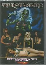 THE IRON MAIDENS Caught Somewhere In Tokyo Live In Japan DVD All Regions SEALED
