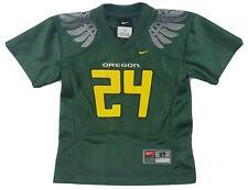 NIKE Oregon DUCKS FOOTBALL JERSEY #24 Shirt Children Kids 2T