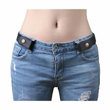 Buckle-free Elastic Women Belt for Jeans without Buckle, SANSTHS Comfortable ...