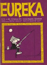 EUREKA n. 72 - EDITORIALE CORNO - FEBBRAIO 1972