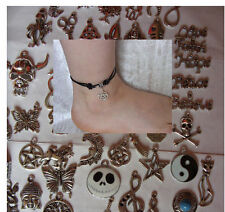 Unbranded Leather Costume Anklets