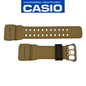 CASIO G-SHOCK Mudmaster Watch Band Strap GG-1000-1A5 Original Tan Resin