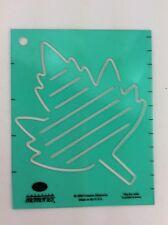 Creative Memories Maple Leaf Stencil Journaling Template