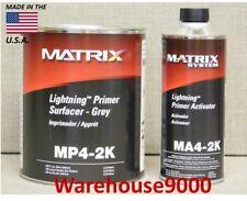 ONE GAL OF MATRIX MP4-2K LIGHTNING GREY PRIMER AND 1 QT MA4-2K ACTIVATOR KIT