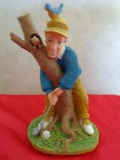 """Golfer Statue 'This Can't Be Good For Your Self Esteem"""" 1960's. It is #829188"""