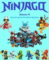 Ninjago Season 11: Secrets of the Forbidden Spinjitzu 16pc Custom Set - USA SELL