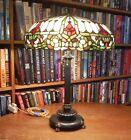 Antique Duffner   Kimberly Leaded Glass Lamp Bradley   Hubbard Handel Wilkinson