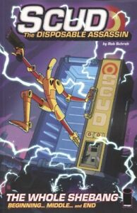 SCUD THE DISPOSABLE ASSASSIN WHOLE SHEBANG TPB NEW PTG/ NEW UNUSED
