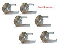 Satin Chrome entrance commercial lock Grade 2 Kwikset keyway 1/2/3/4/5/6 sets