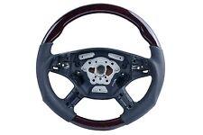 05-08 for Mercedes M Class W164 Steering Wheel Walnut Black Leather ML350 ML500