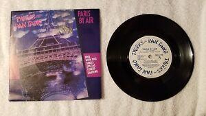"TYGERS OF PAN TANG Paris By Air ORIGINAL UK 7"" Vinyl Single 45 WITH EARRING Mint"