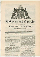 NSW...Government Gazette...No.222...Sept 1919...Medical Practitioners, Ministers