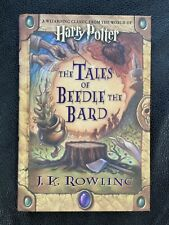 JK Rowling Harry Potter The Tales of Beedle the Bard 1st Edition 2008 signed NEW