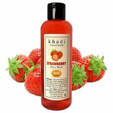 Khadi Natural Herbal Strawberry face wash Makes Face soft Clean & Fresh - India