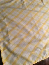 Nice Yellow And White Plaid Pillow Shams Set Standard Martha Stewart Standard
