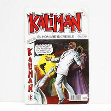 Kaliman El Hombre Increible No 230 La Bruja Blanca Español