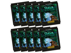 Panini Disney Raya and the Last Dragon 2021 Sticker Collection - 10 sealed packs
