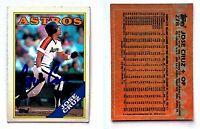 Jose Cruz Signed 1988 Topps #278 Card Houston Astros Auto Autograph