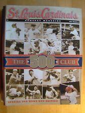 St. Louis Cardinals Magazine No 6 1999 500 Home Run Club Edition Baseball