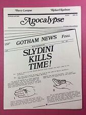 Harry Lorayne, Richard Kaufman - APOCALYPSE - Magic Newsletter - Vol.1 No.3 1978