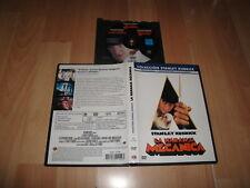 LA NARANJA MECANICA PELICULA EN DVD DE STANLEY KUBRICK CON MALCOM McDOWELL