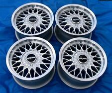 "Rare Set of 15"" Ronal LS Wheels - New in Boxes - 4x100 ET25 - Fits BMW E30"