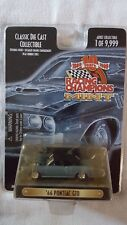 """1966 Pontiac GTO Racing Champions Mint Classic Die Cast Collectible 3.25"""" Scale"""