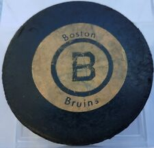 1972-75 BOSTON BRUINS NHL VINTAGE  BILTRITE RUBBER CRESTED OLD RAWLINGS REVERSE