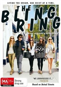The Bling Ring (DVD, 2013)*R4*Terrific Condition*comedy