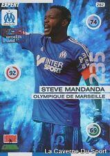 282 STEVE MANDANDA FRANCE OM MARSEILLE EXPERT CARD ADRENALYN 2016 PANINI