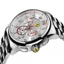 NIB  Scuderia Ferrari Mens  SF107 Heritage Chronograph Watch 0830055  MSRP $ 445