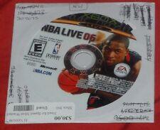 Microsoft Xbox. NBA Live 06 (NTSC USA/CAN)