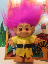 "Fireman - 4"" Forest Troll Doll - New On Card"