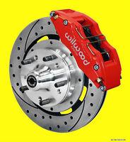 Wilwood Camaro Chevelle Front Disc Brake Kit Brakes Drilled Slotted  6 Piston *