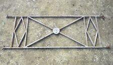 98 / 116 cm - Ancien garde corps de fenêtre en fer forgé