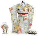"Doll Clothes 18"" Kimono Sun Blossom by Carpatina Fits American Girl Dolls"