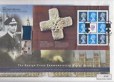 2002 Go livret Mercure volet George croix médaille commémorative couvrir
