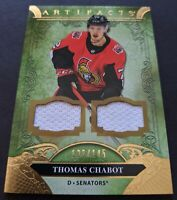 Thomas Chabot 2020-21 Upper Deck Artifacts #70 Gold Parallel Jersey Relic120/145