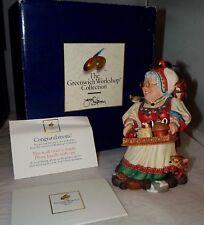 Greenwich Workshop Mrs Santa Claus James Christensen Figurine Mint MIB Box
