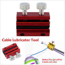 Universal Motorcycle Bike Cable Lubricator Tool Brake Clutch Luber Oiler 2 Bolts