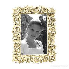 Landhausstil Fotorahmen Bilderrahmen Creme Weiß 10x15 Antik Shabby Chic Stil