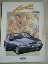 Ford Fiesta Style brochure Jan 1997 German text