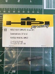 HPI Racing 1678 Needle Valve Complete (8 pcs set) Nitro Star 15FE 12E